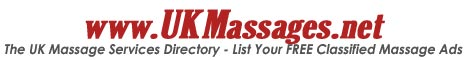 UK Massage Services Directory - Free Ads Listing
